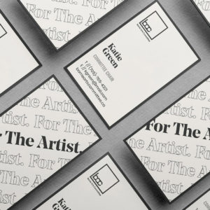 barrie arts committee case study tile business cards