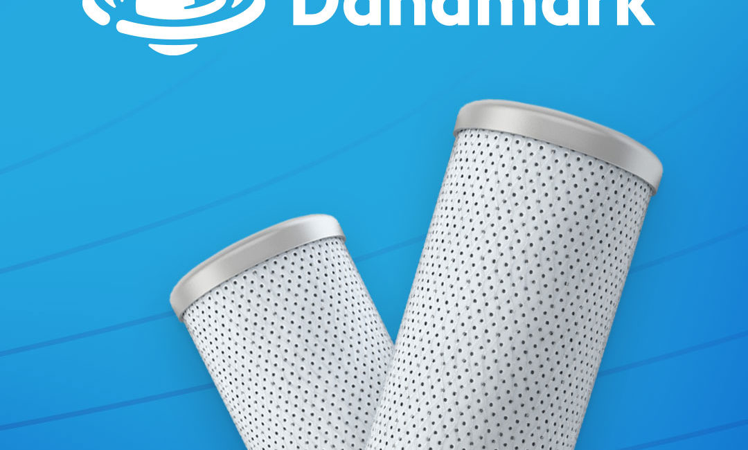 danamark watercare water filters branding case study tile