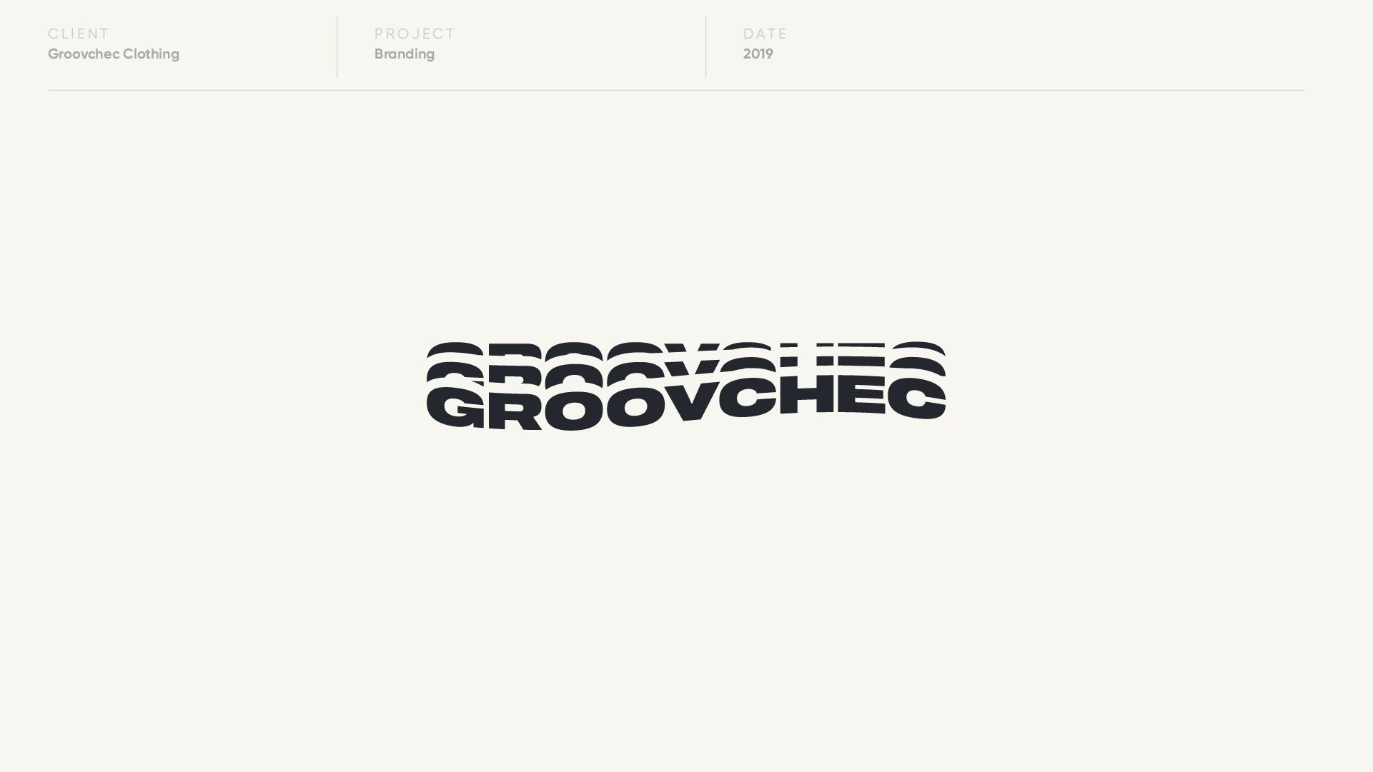 groovchec logo design by anthony mika