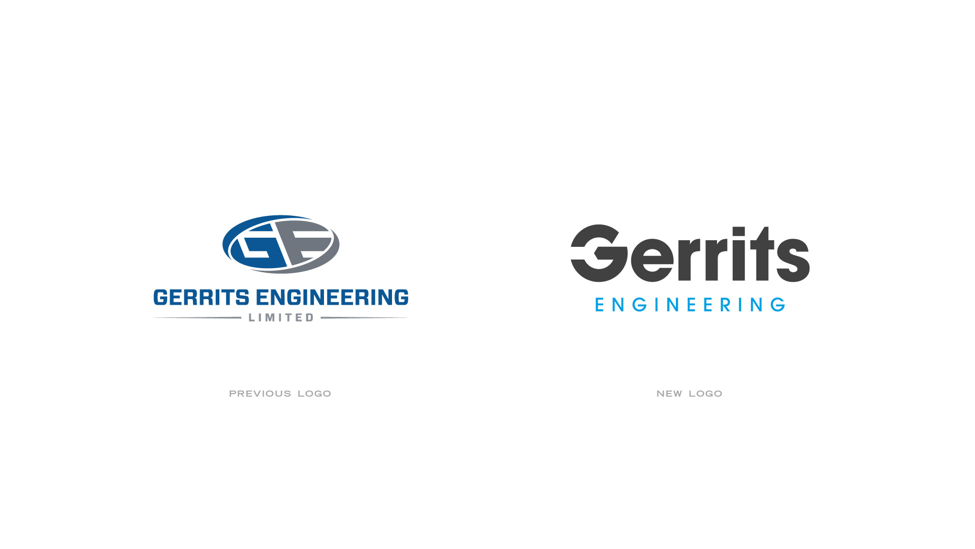 gerrits engineering old logo and new logo