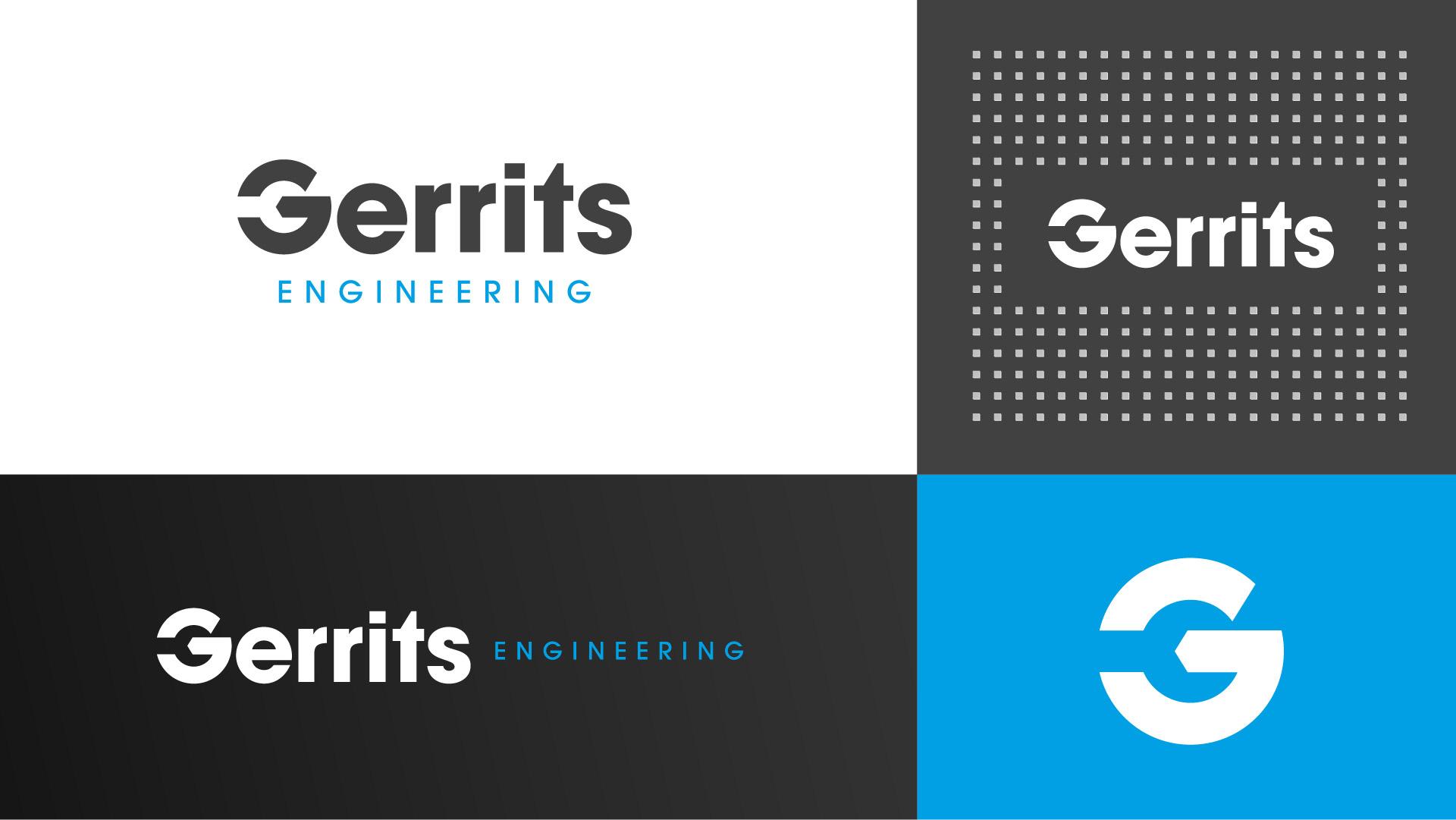 gerrits engineering logo variations
